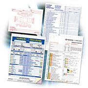 Vehicle Service Inspection Forms